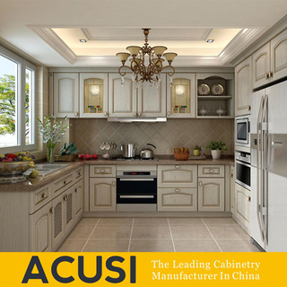 Factory Wholesale Solid Wood Kitchen Cabinets
