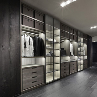 Solid Wood Walking Closet