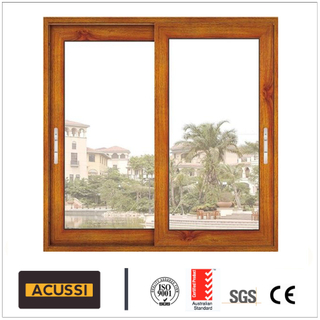 Aluminium Sliding Window Combined Window with As2047 Australia Standard