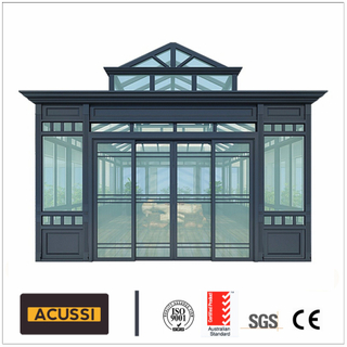 Aluminum Sunroom with Double Glazed Tempered Glass High Quality Glass House