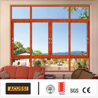 Aluminium Sliding Window Soundproof Anti-Thief Window for Building Project
