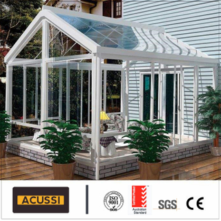 Tempered Glass of Aluminium Profile Sun Room for Glass House