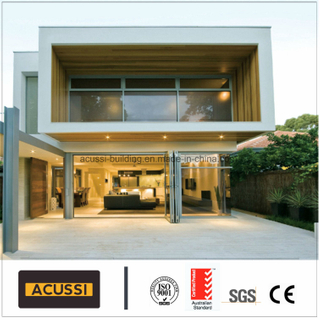 Black Colour Aluminium Heavy Folding Door for House Villa Hotel Project